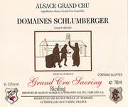 Domaines Schlumberger Grand Cru Saering Riesling 1997 Front Label