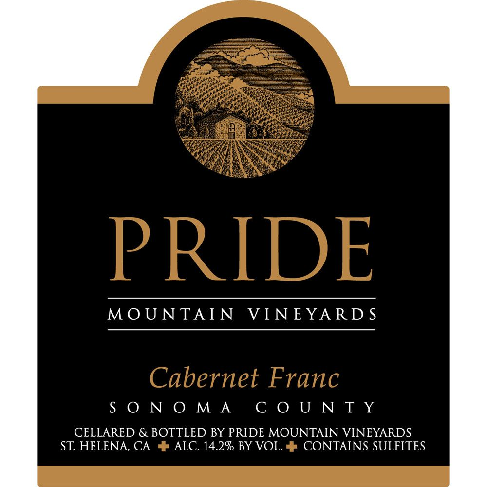 Pride Mountain Vineyards Cabernet Franc (1.5 Liter Magnum) 2007 Front Label