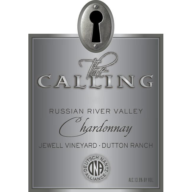 The Calling Jewell Vineyard Chardonnay 2013 Front Label