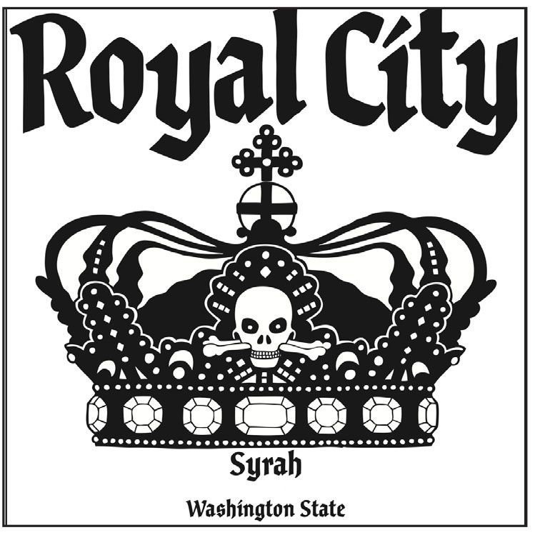 Charles Smith Wines Royal City Syrah 2012 Front Label