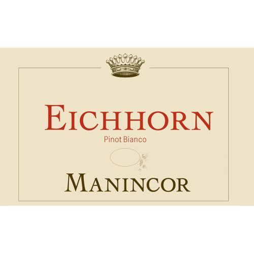 Manincor Terlano Pinot Bianco Eichorn 2013 Front Label