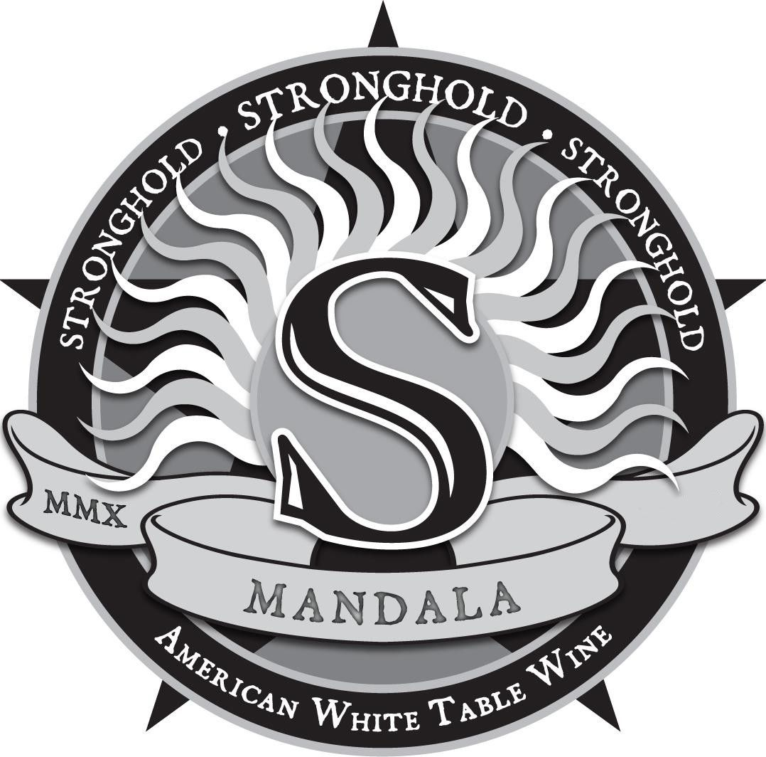 Arizona Stronghold Mandala White 2011 Front Label