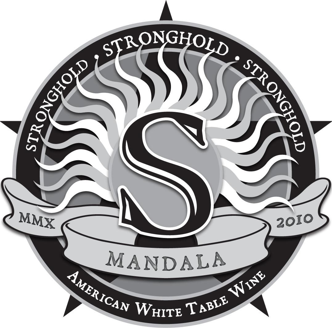 Arizona Stronghold Mandala White 2010 Front Label