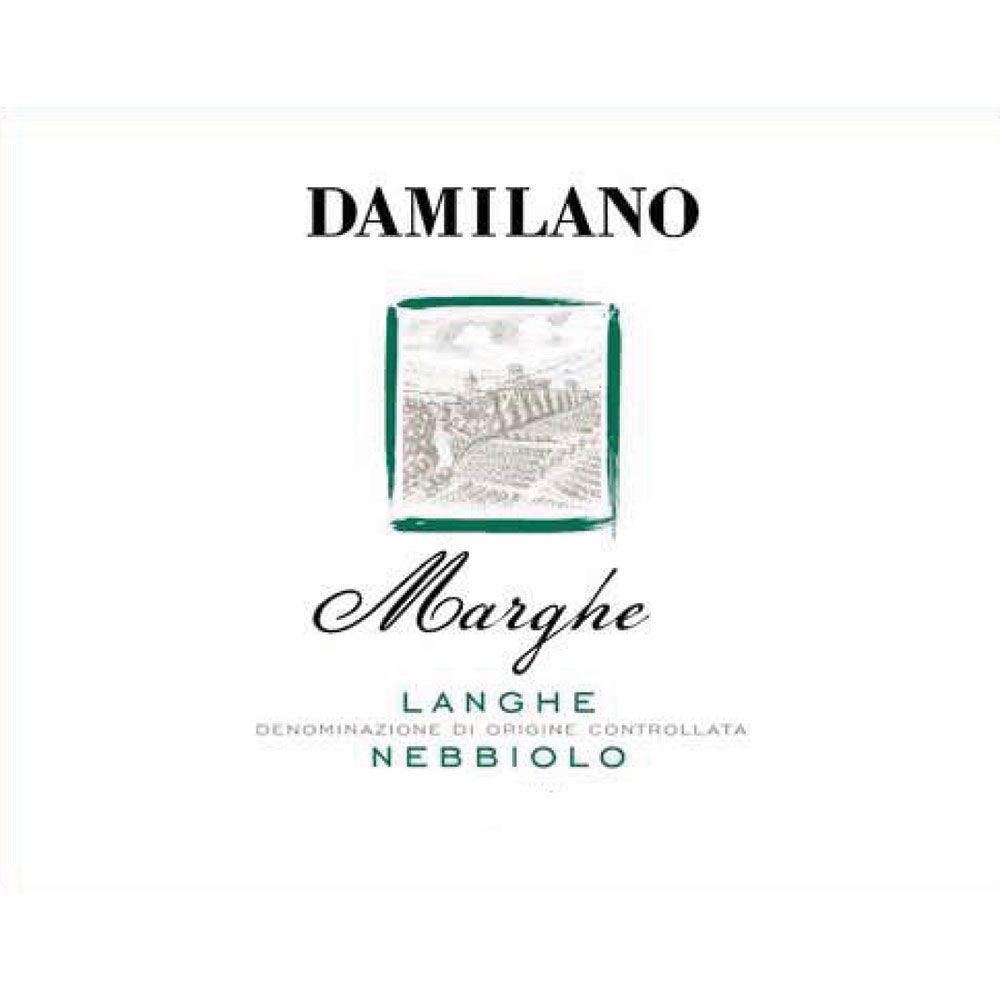 Damilano Marghe Nebbiolo Langhe 2010 Front Label