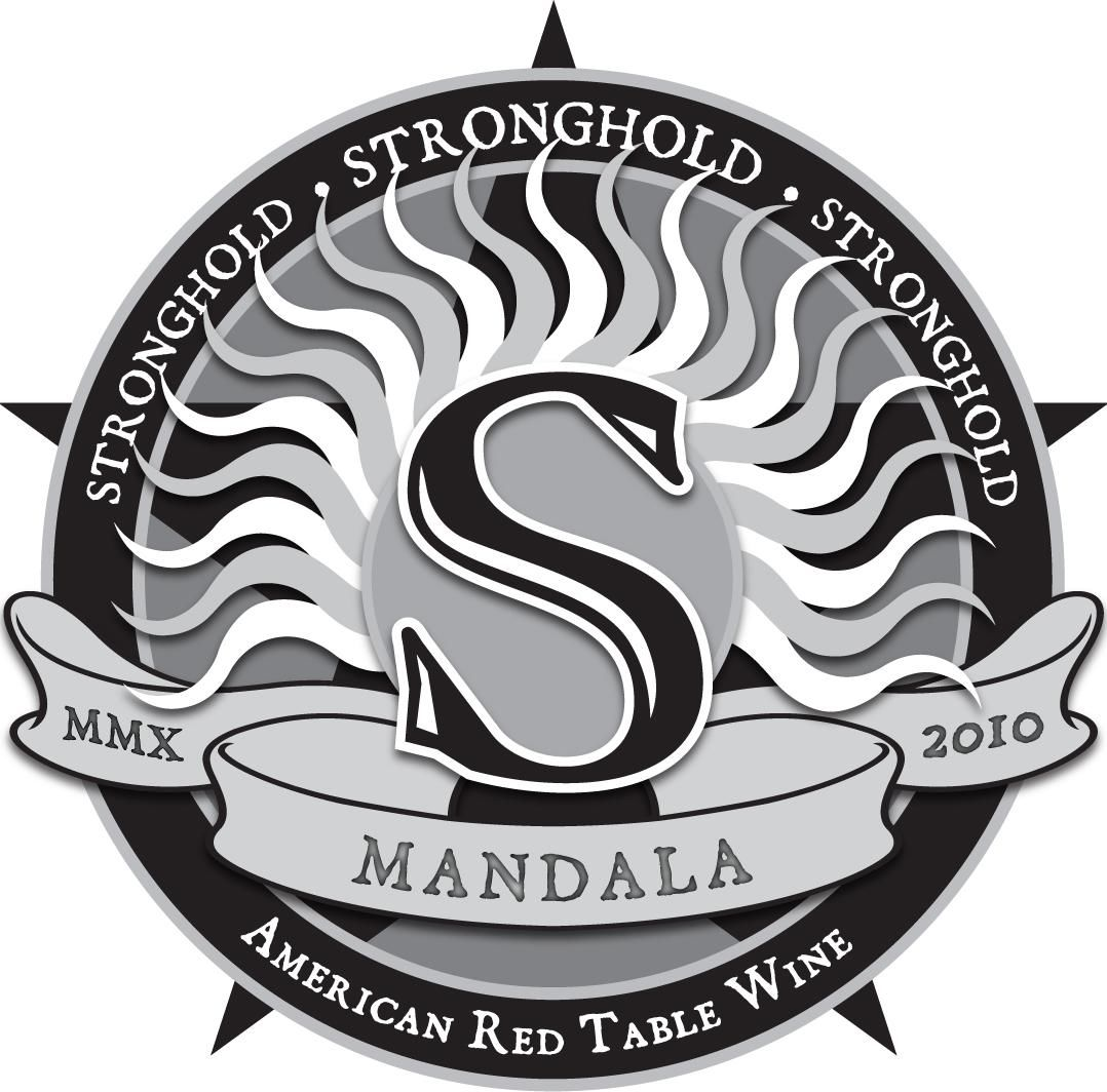 Arizona Stronghold Mandala Red 2010 Front Label