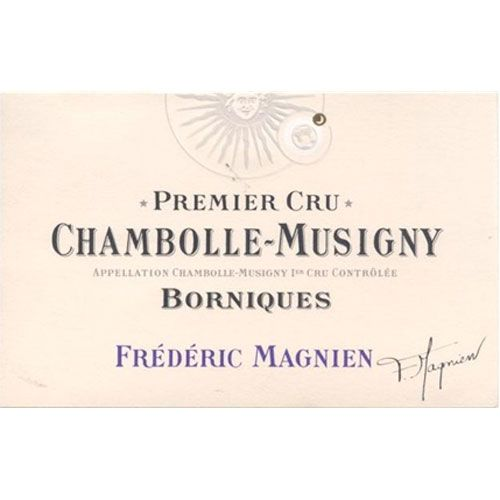 Frederic Magnien Chambolle-Musigny Borniques Premier Cru 2013 Front Label