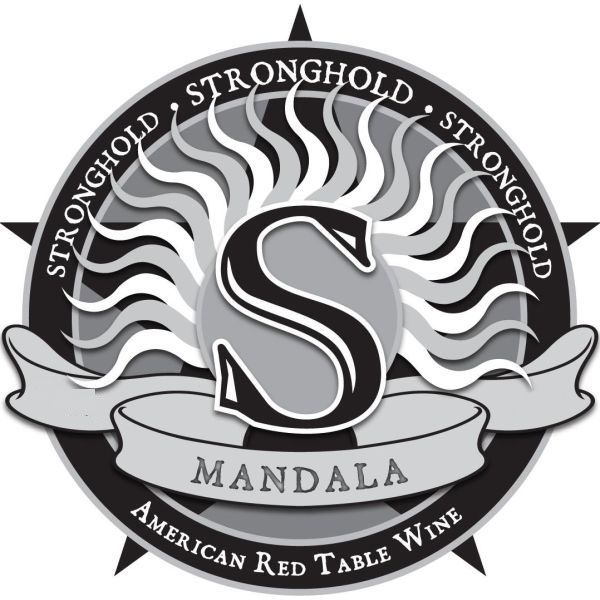 Arizona Stronghold Mandala Red 2011 Front Label