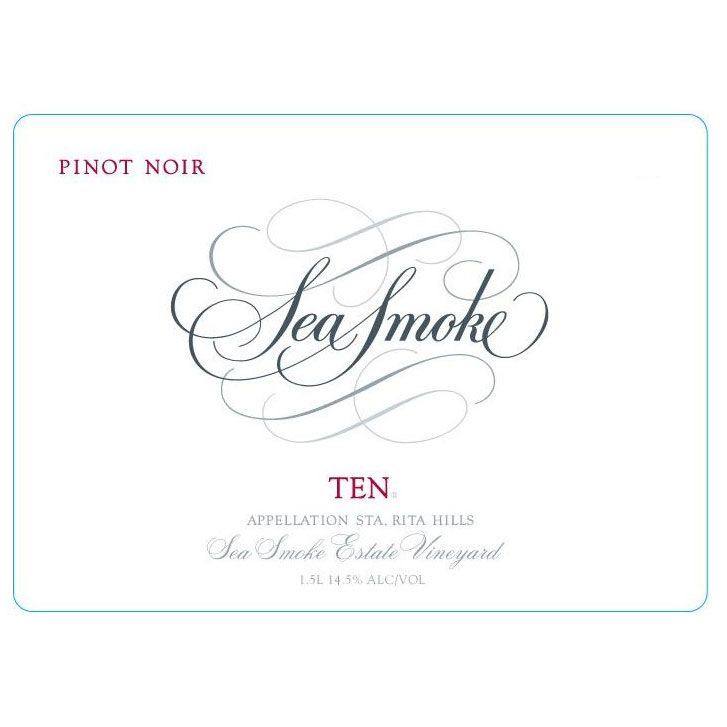 Sea Smoke Cellars Ten Pinot Noir 2013 Front Label