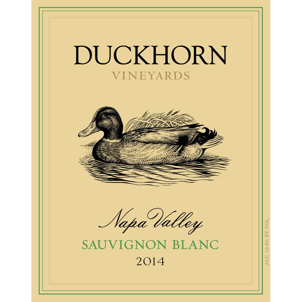 Duckhorn Sauvignon Blanc (375ML half-bottle) 2014 Front Label