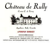 Antonin Rodet Chateau de Rully Rouge 1997 Front Label