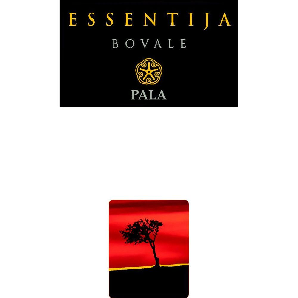 Pala Essentija Bovale 2009 Front Label