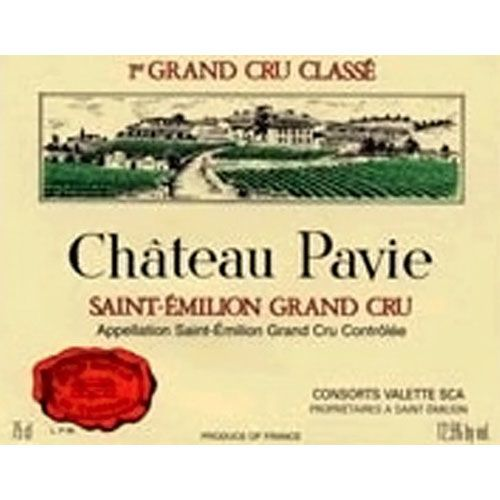 Chateau Pavie (1.5 Liter Magnum) 2014 Front Label