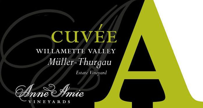 Anne Amie Cuvee A Muller-Thurgau 2016 Front Label