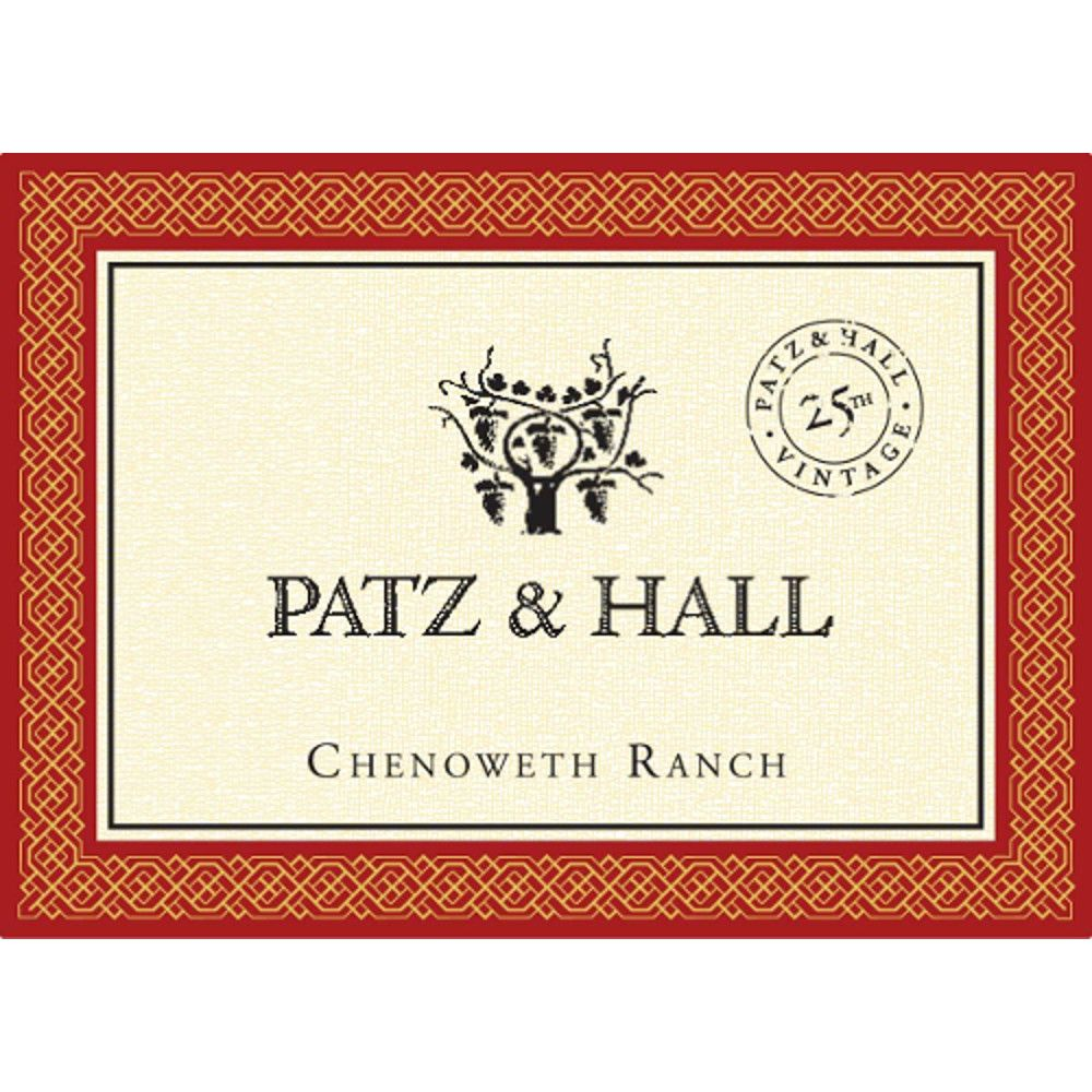 Patz & Hall Chenoweth Ranch Pinot Noir 2013 Front Label