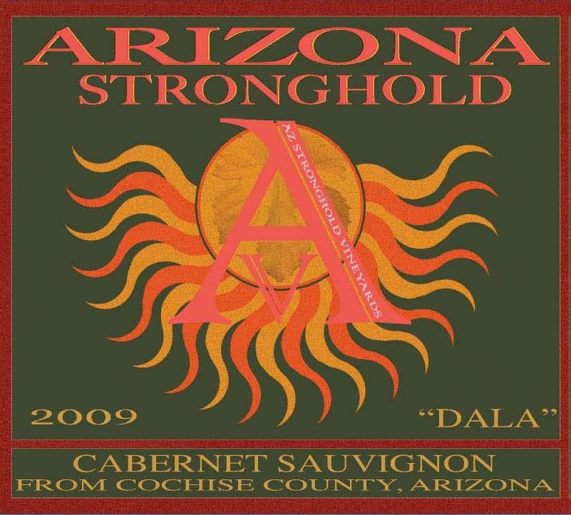 Arizona Stronghold Dala Cabernet 2009 Front Label