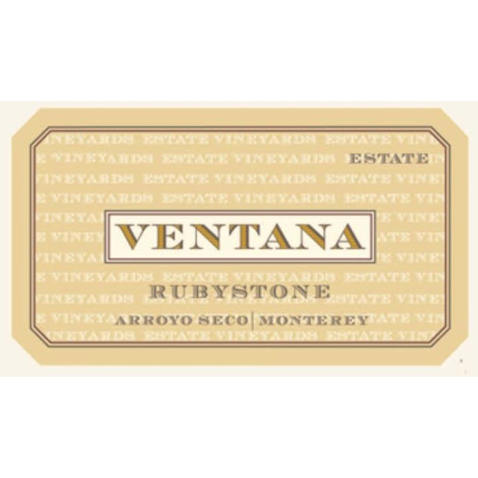 Ventana Rubystone Red 2014 Front Label
