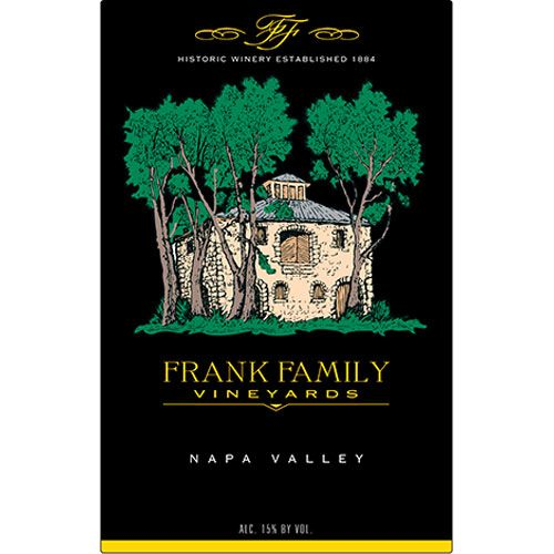 Frank Family Vineyards Petite Sirah 2012 Front Label