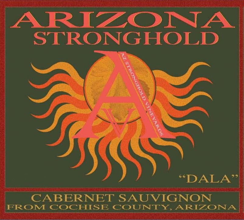 Arizona Stronghold Dala Cabernet 2010 Front Label