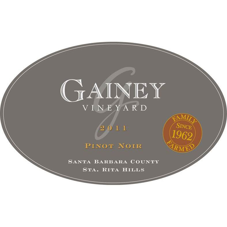 Gainey Pinot Noir 2011 Front Label