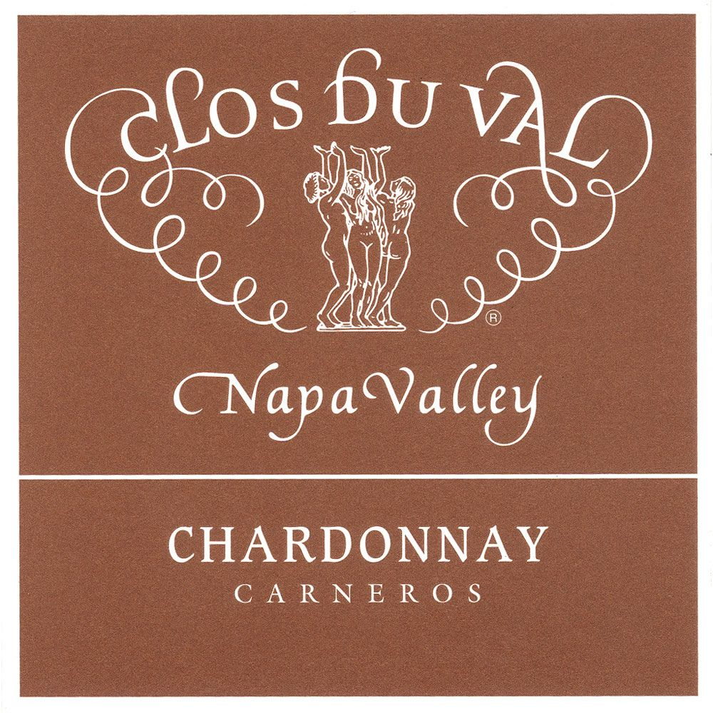 Clos Du Val Carneros Chardonnay (375ML half-bottle) 2013 Front Label