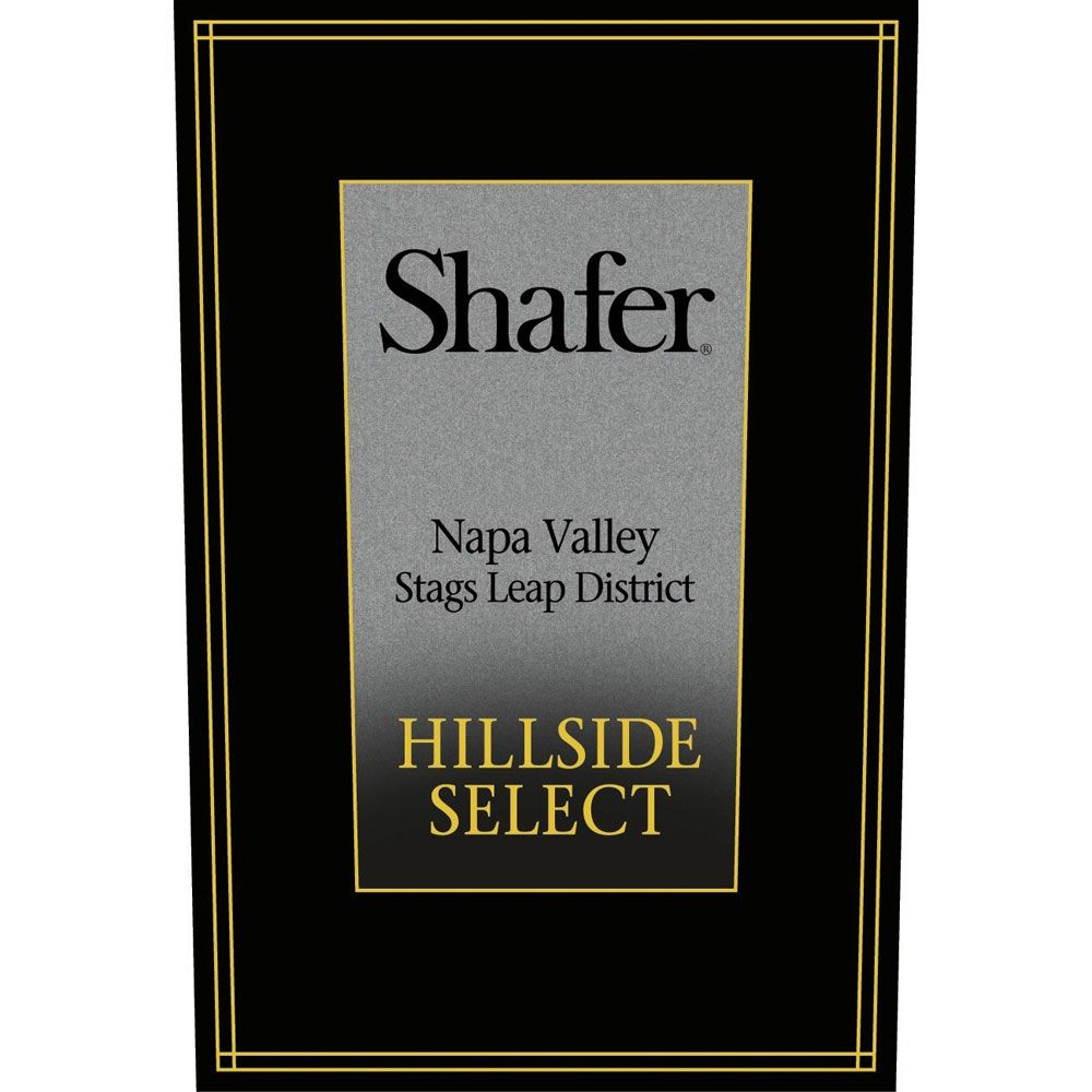 Shafer Hillside Select Cabernet Sauvignon (1.5 Liter Magnum) 2011 Front Label