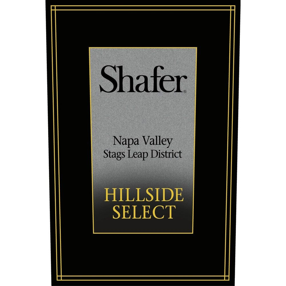Shafer Hillside Select Cabernet Sauvignon (3 Liter Bottle) 2011 Front Label