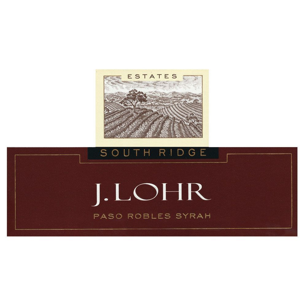J. Lohr South Ridge Syrah 2013 Front Label