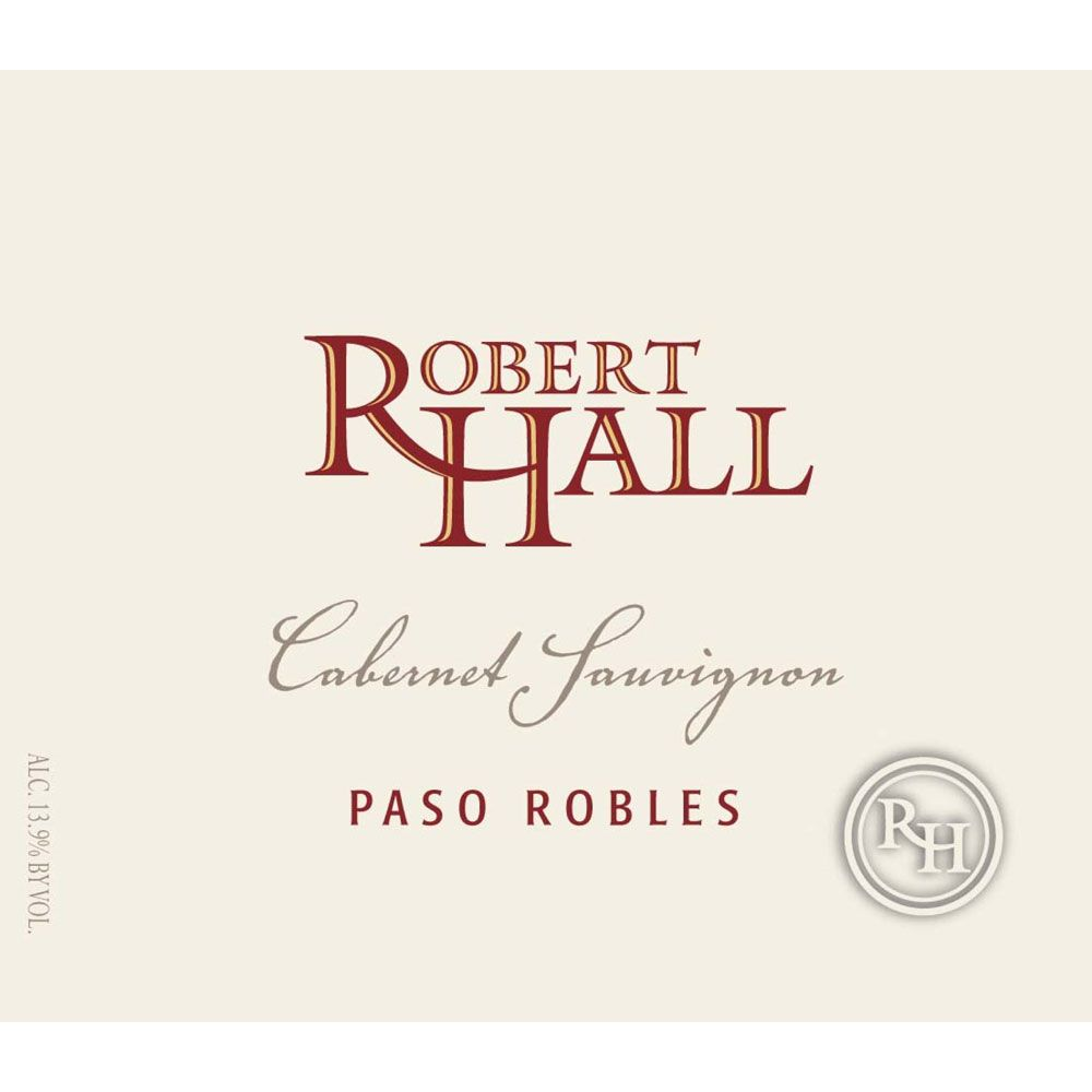 Robert Hall Cabernet Sauvignon 2013 Front Label