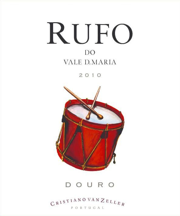 Quinta Vale D. Maria Rufo Red 2010 Front Label
