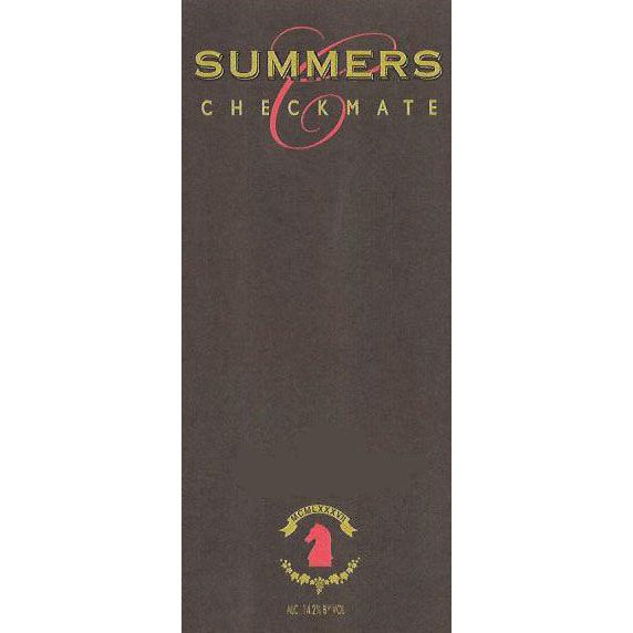 Summers Estate Charbono 2011 Front Label