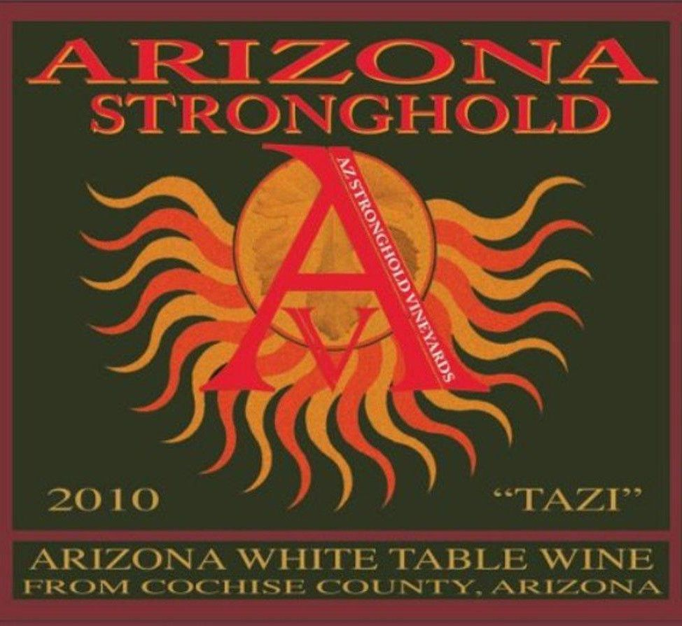 Arizona Stronghold  Tazi 2010 Front Label