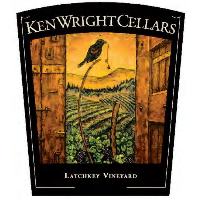 Ken Wright Cellars Latchkey Vineyard Pinot Noir 2014 Front Label
