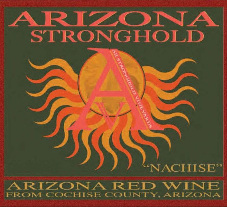Arizona Stronghold Nachise Red 2010 Front Label