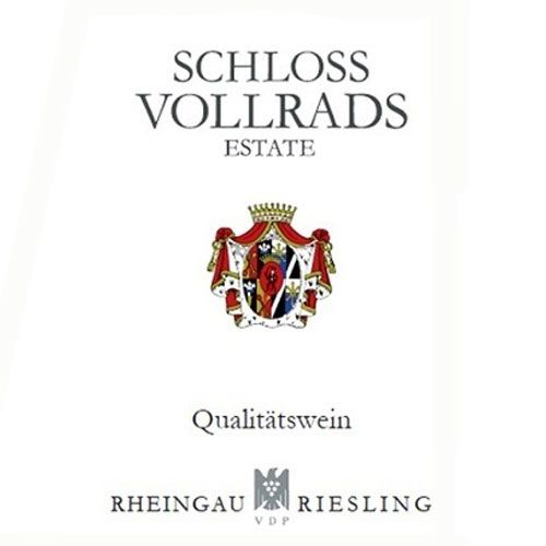 Schloss Vollrads Riesling QbA 2014 Front Label