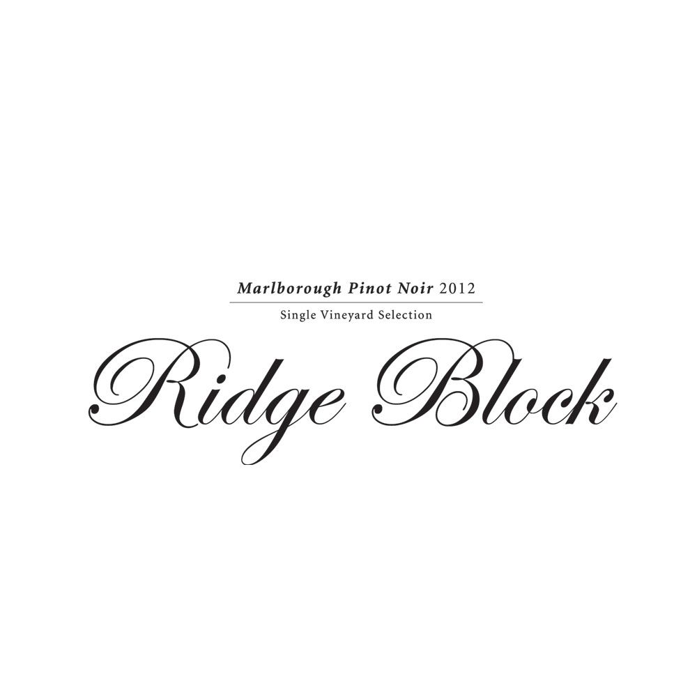 Giesen Ridge Block Single Vineyard Pinot Noir 2013 Front Label