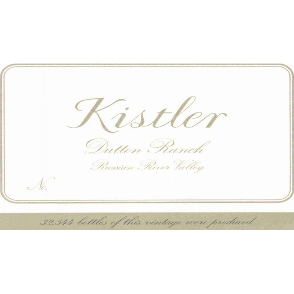 Kistler Vineyards Dutton Ranch Chardonnay 2005 Front Label