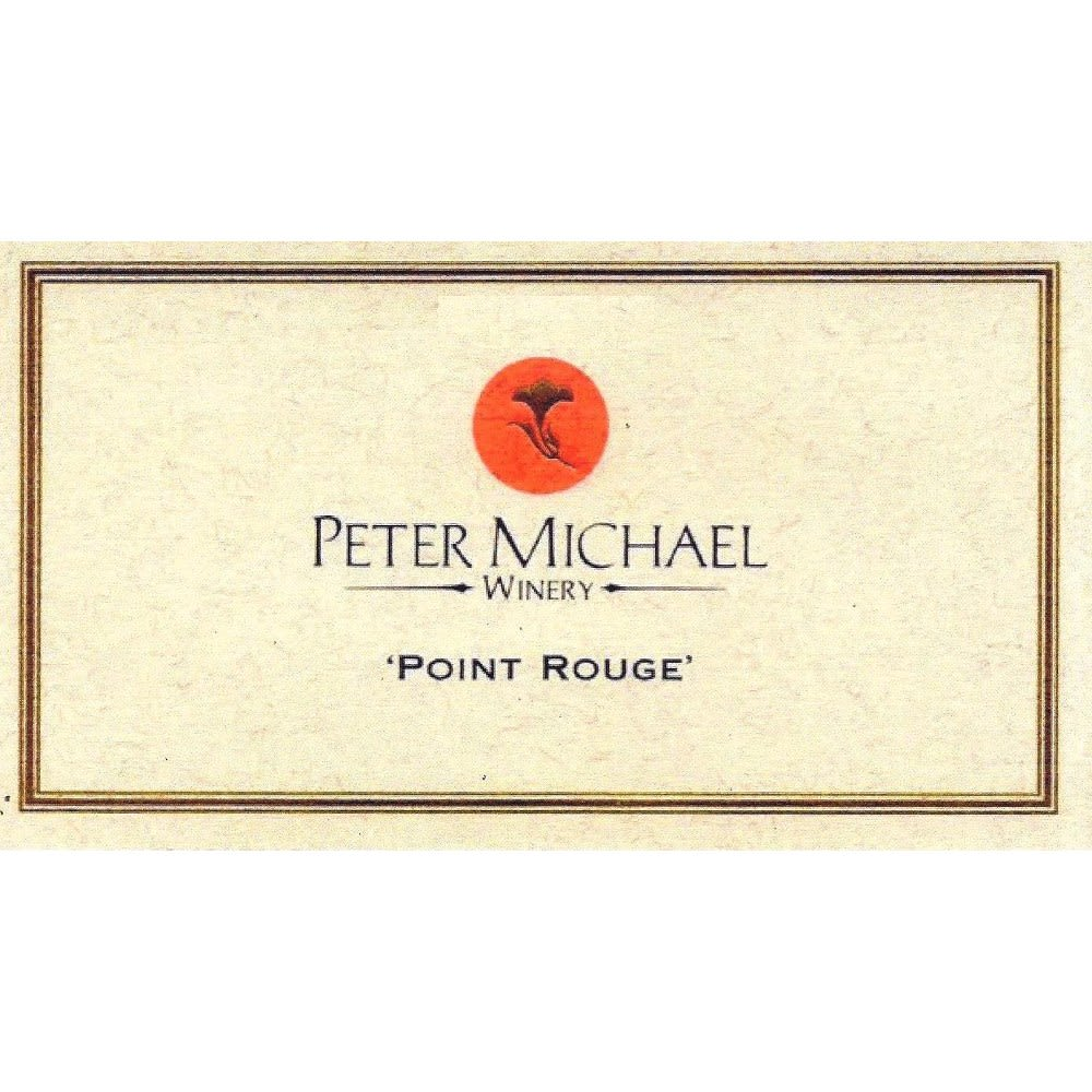 Peter Michael Point Rouge Chardonnay (torn labels) 2005 Front Label