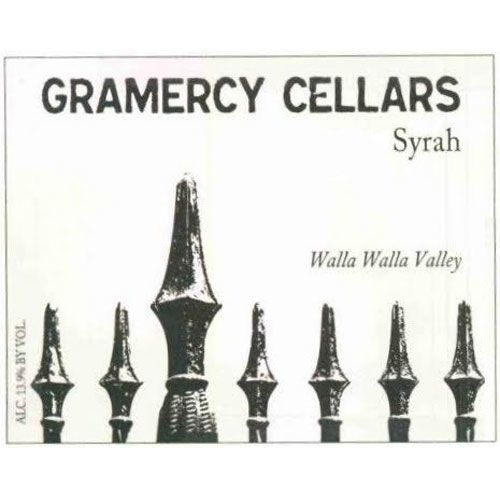 Gramercy Cellars The Deuce Syrah 2013 Front Label
