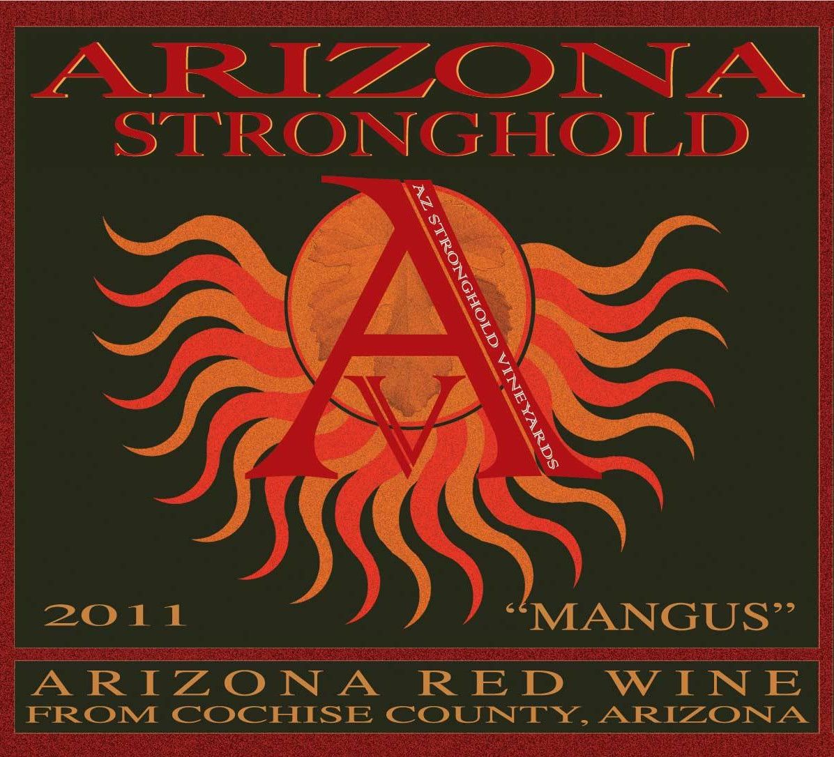 Arizona Stronghold Mangus 2011 Front Label