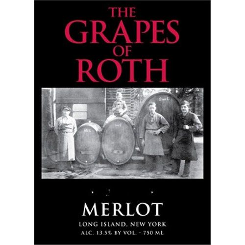 Wolffer Estate The Grapes of Roth Merlot 2011 Front Label