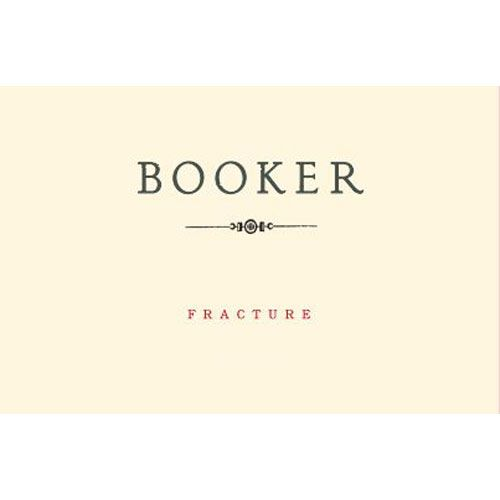 Booker Vineyard Fracture Syrah 2013 Front Label