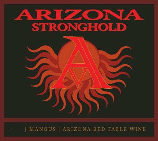 Arizona Stronghold Mangus Red 2013 Front Label