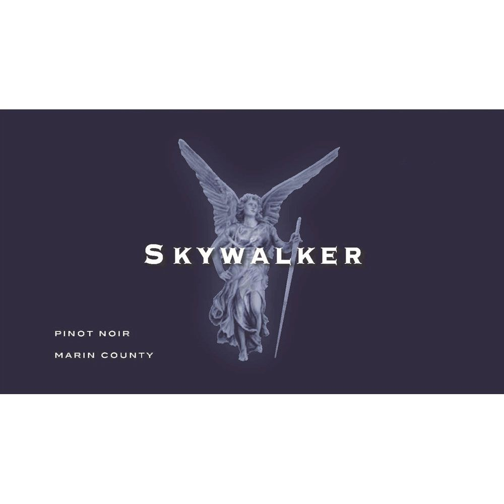 Skywalker Vineyards Pinot Noir 2012 Front Label