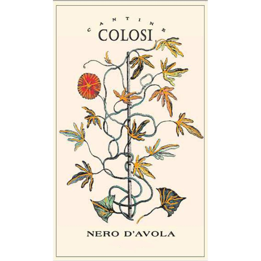 Colosi Nero d'Avola 2014 Front Label