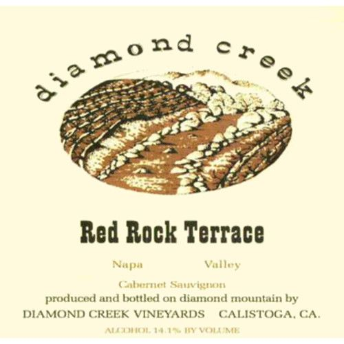 Diamond Creek Red Rock Terrace Cabernet Sauvignon 2011 Front Label