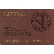 Kathryn Kennedy Lateral 1997 Front Label