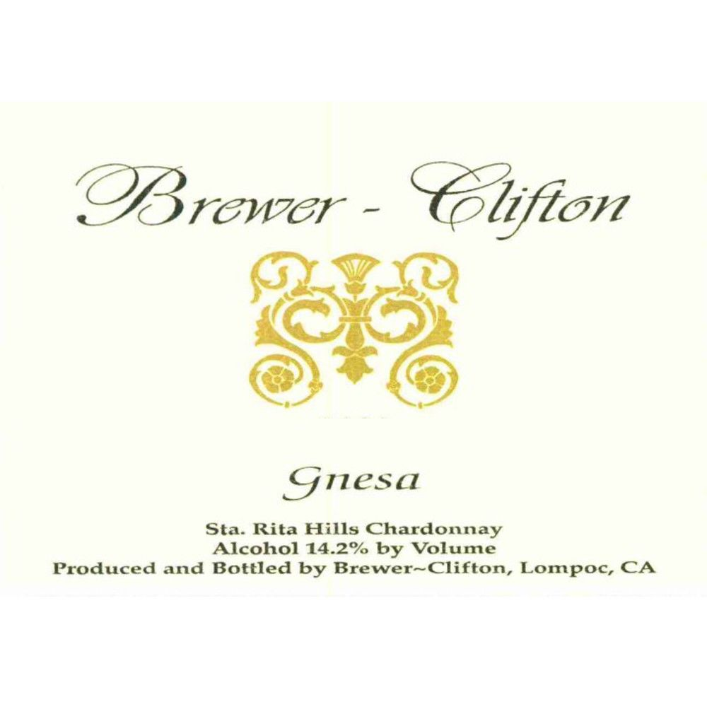 Brewer-Clifton Gnesa Chardonnay 2011 Front Label