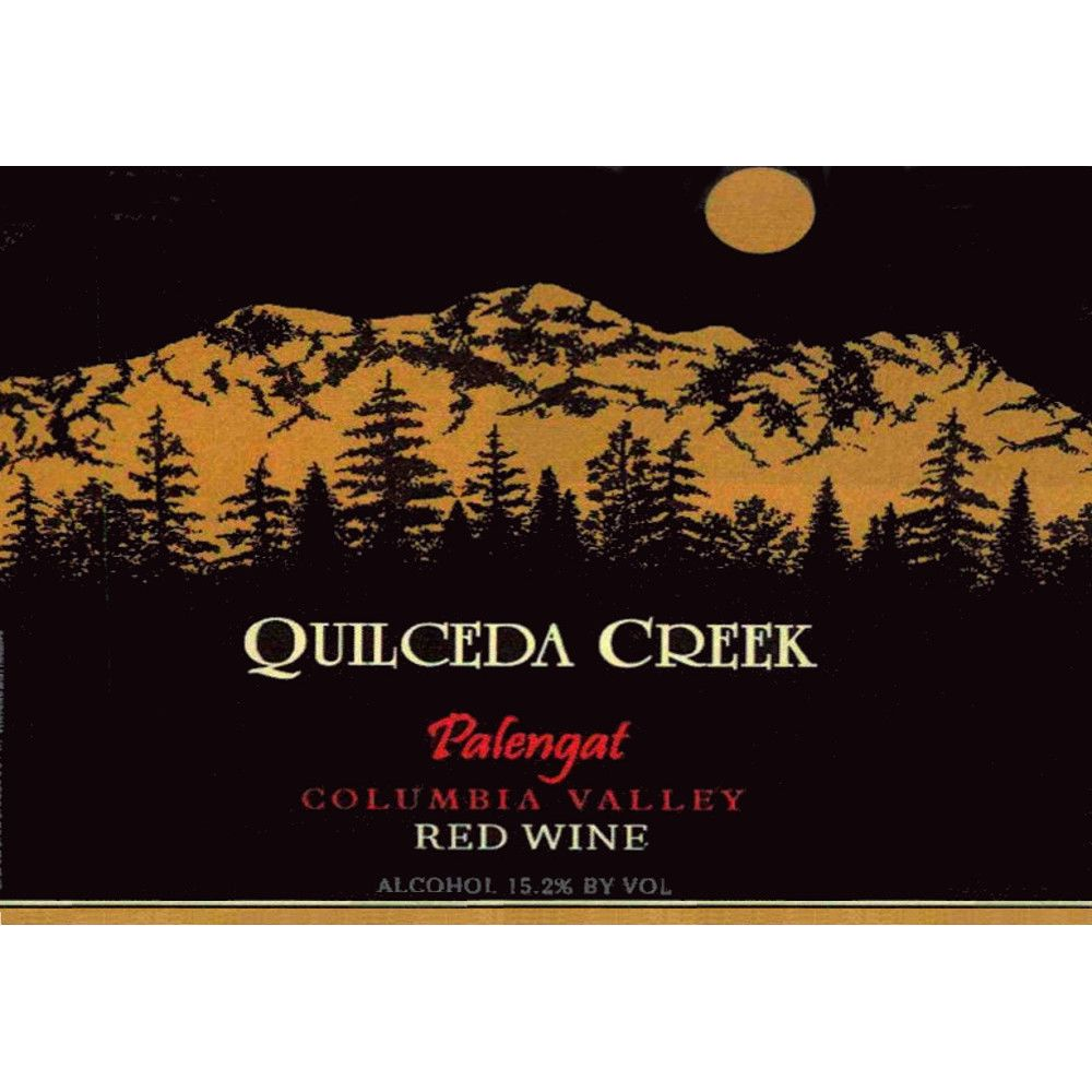 Quilceda Creek Palengat Proprietary Red Blend 2012 Front Label