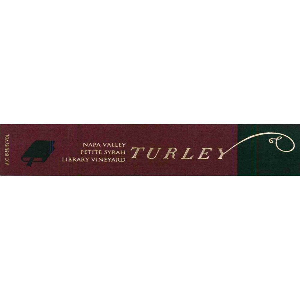 Turley Library Petite Syrah 2013 Front Label