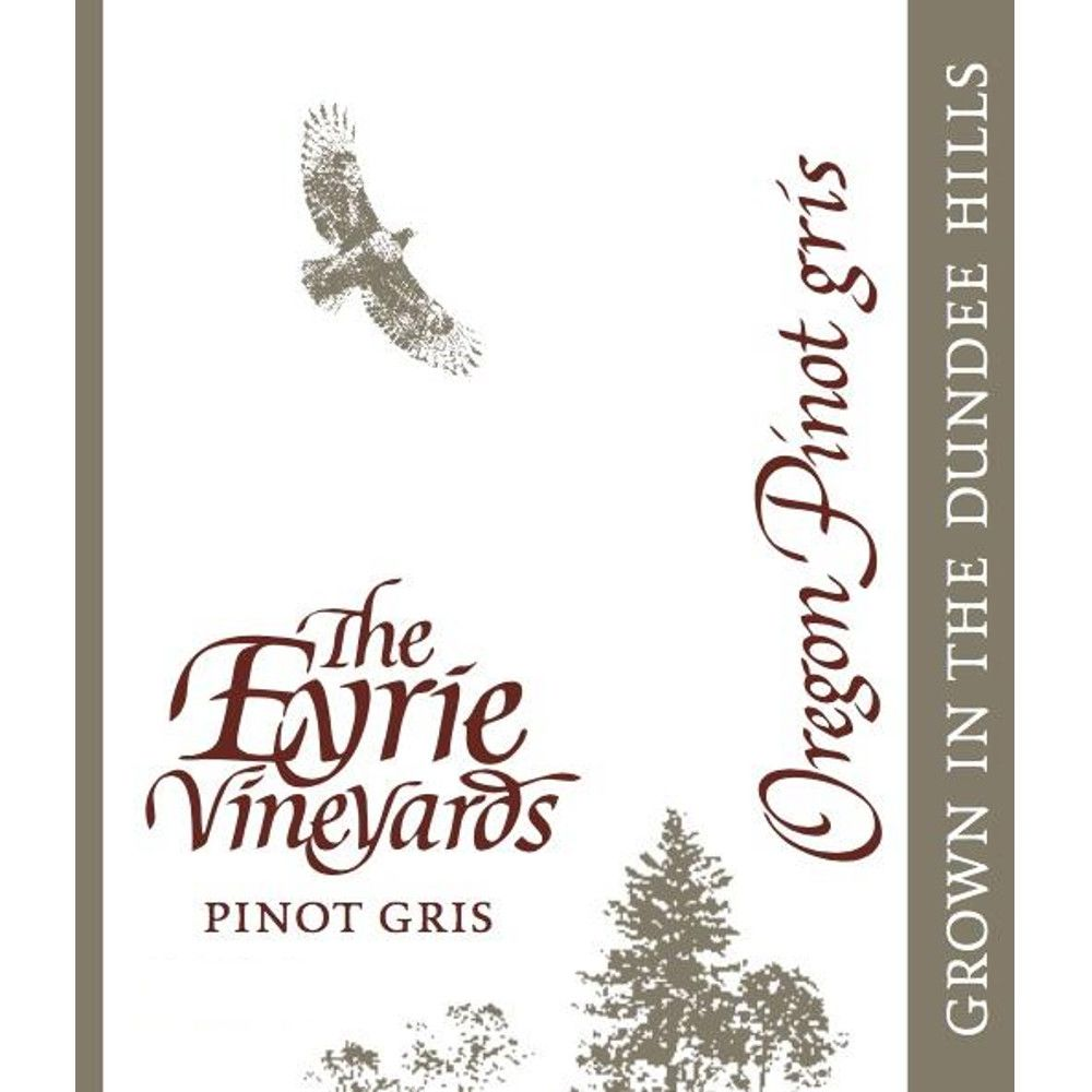 Eyrie Pinot Gris 2014 Front Label